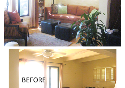 Interior Design Makeover-before-after