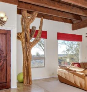 saguaro rib floor art_3d wall art_interior design tucson_tde